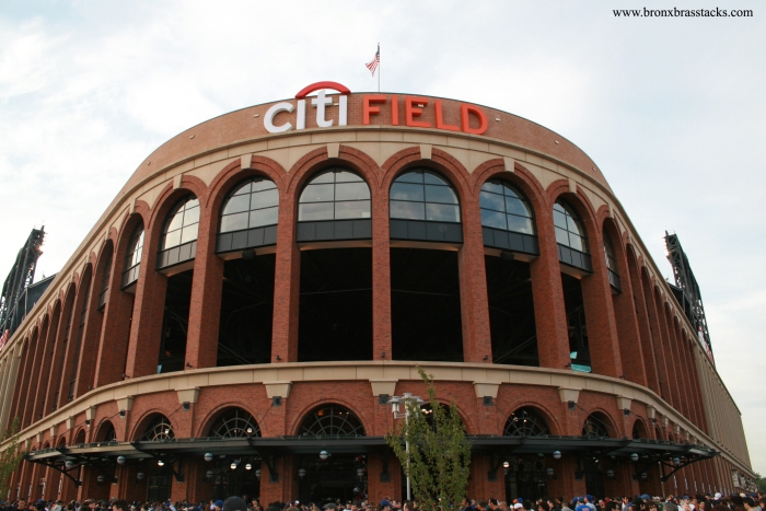 Citi Field in the day.  Couldn't even fit it in the frame, it's so big.